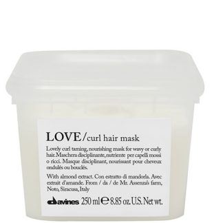 Mascarilla love curl