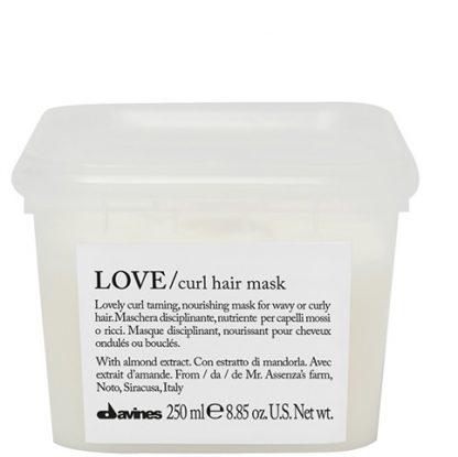 Mascarilla love curl